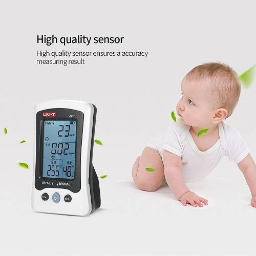 UNI T Air Quality Meter PM2.5 A25F
