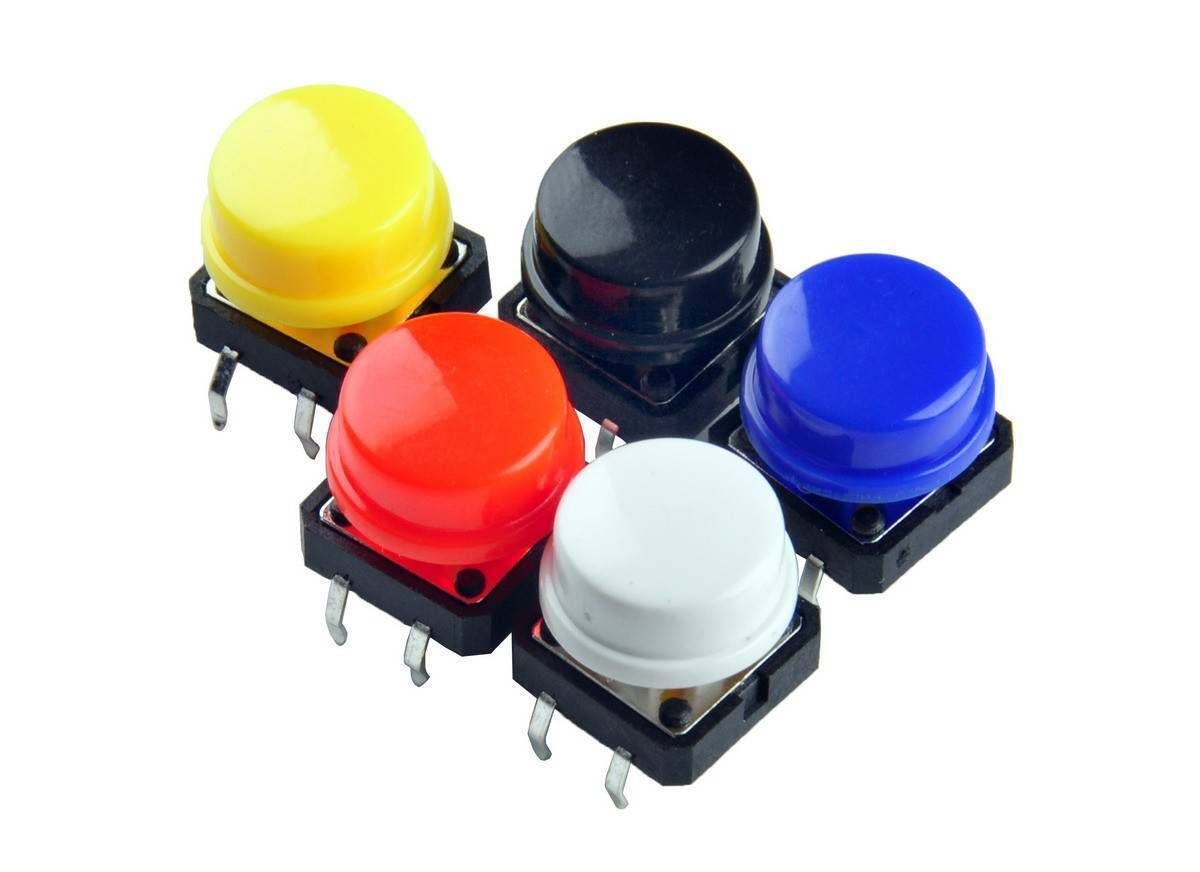 12 x 12mm x 7.5mm Push Button