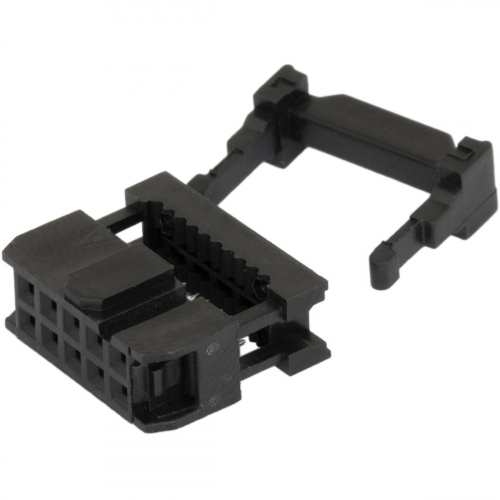 2.54mm Step 2x5 Pin 10 Pin IDC female connector FC-10