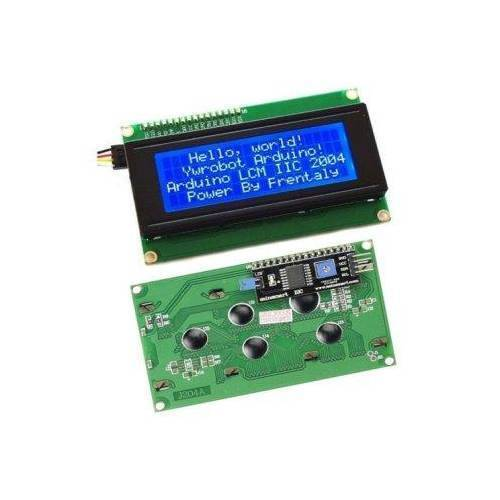LCD2004 Blue Parallel LCD Display with IIC/I2C interface