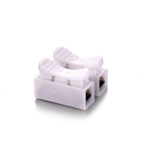 2 Point Quick Connector Cable Clamp Terminal Block Spring Connector Wire