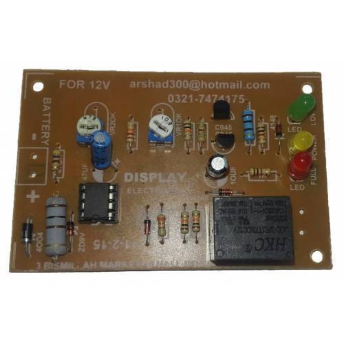 12v Battery Protection Auto Cut Off Circuit BMS