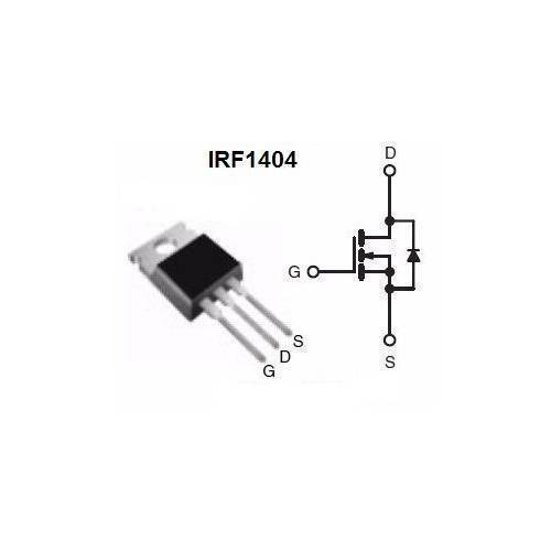 MOSFET IRF1404 IRF 1404