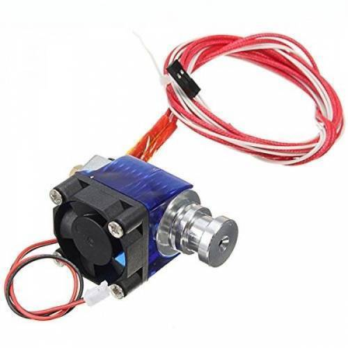Short Distance V6 J-head All metal hotend Extruder with cooling fan for 1.75/3mm 12V 0.4mm Nozzle