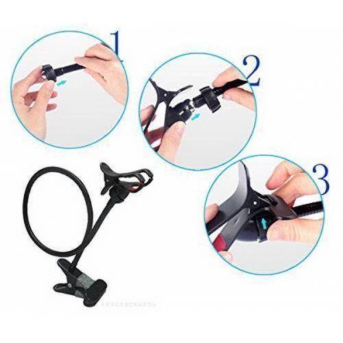 Universal Cell Phone Holder Lazy Phone GosseNeck Holder Clip Bracket Flexible Long Mobile Stand In Pakistan