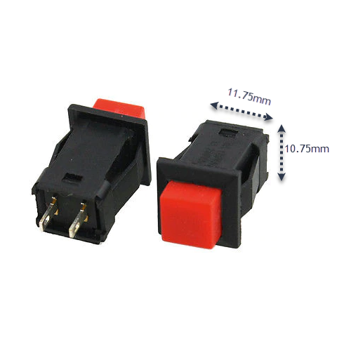 2 pin Push button 0.5A 220VAC in Pakistan