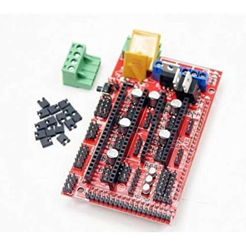 3D Printer Controller Board RAMPS 1.4 Arduino Mega Shield RepRap Prusa Model