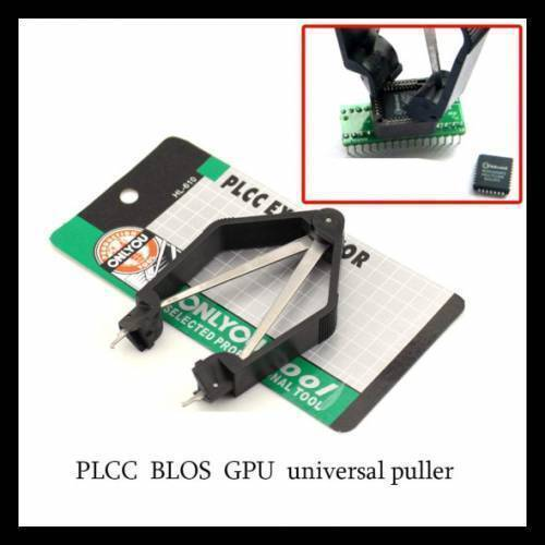TY-610 PLCC IC circuit board extractor tool chip pull up machine clip in Pakistan
