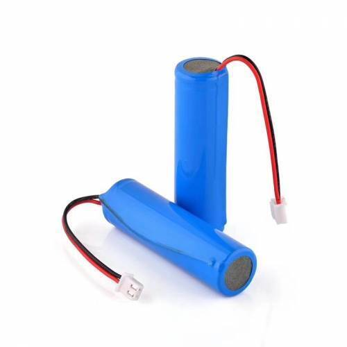 1500mAh 3.7v 18650 Battery With Wire, JST Connector And BMS Protection