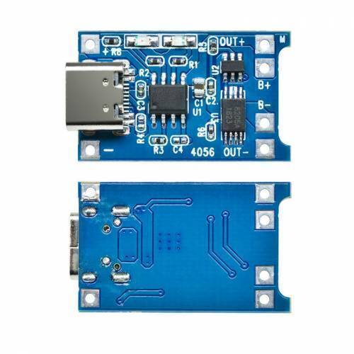 TP4056 Lithium Battery Charging Board 1A TYPE C