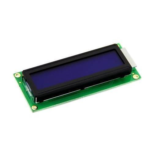 Blue 1602 LCD 16x2 Character LCD Arduino Display For Arduino