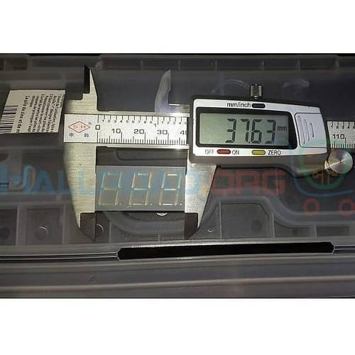 3 Digit 7 Segment Common Anode Red Color Display