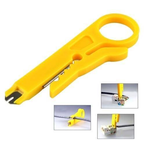 Portable Mini Wire Stripper Flat Nose Cable Cutter
