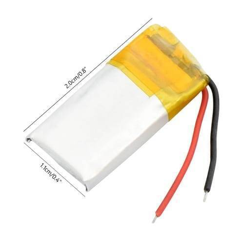 3.7V 70mah Lithium ion Li-ion Battery