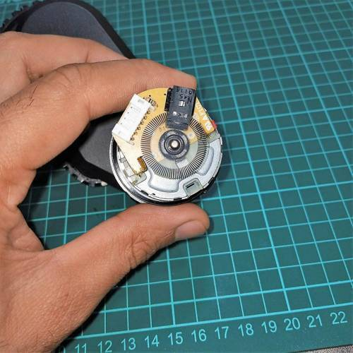 DC Gear Motor With Encoder With Wheel