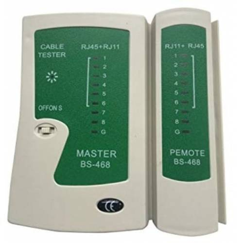 Network Cable Tester Master BS 468 RJ45 RJ11
