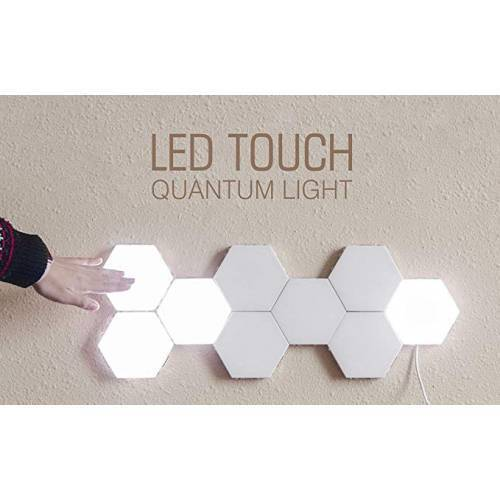 White Color Touch Light Wall Mount Magnetic Modular (1 Pc )