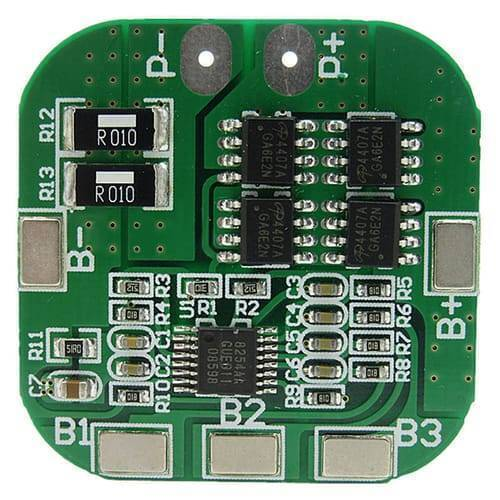 Battery Protection Board 4S 20A 14.8V BMS For 18650 Lithium Ion Cells HX-4S-A20