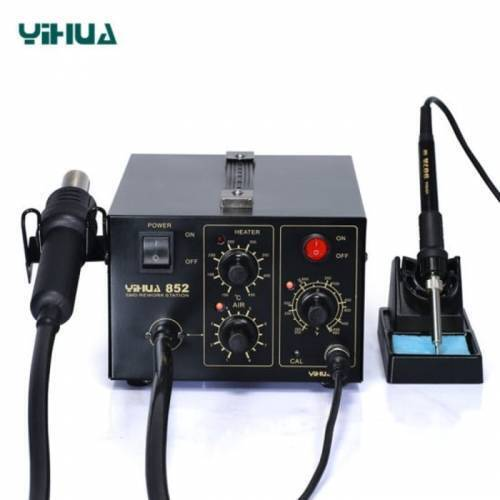 Brushless Hot Air Pump Soldering SMD Rework Station YIHUA YH852