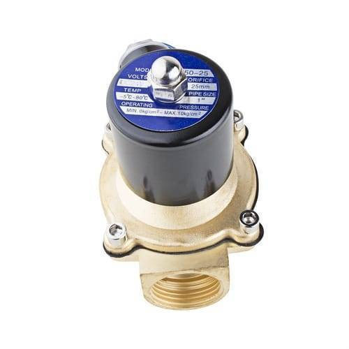 1 Inch 24V DC Electric Solenoid Valve Coil For Water Air Gas Fuels
