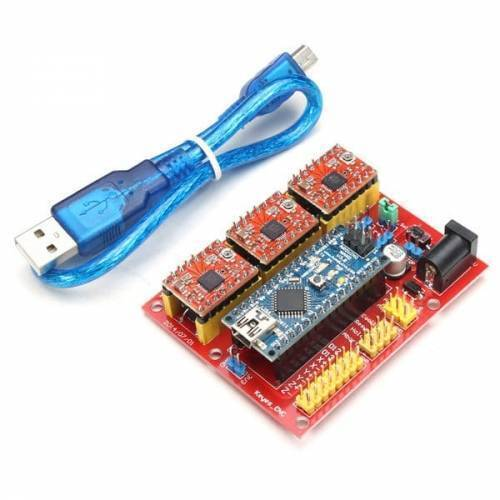 Arduino Nano CNC Shield V4 Expansion Board Stepper Motor Driver Board