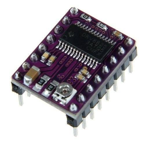 DRV8825 Stepper Motor Driver with Aluminum Heat Sink