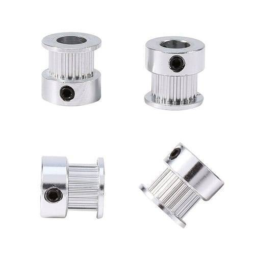 GT2 Pulley 20 Teeth 8mm Bore Timing Gear Aluminum Alloy Pulley For GT2 Belt