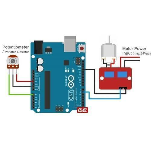 IRF520 MOSFET Driver Module For Arduino