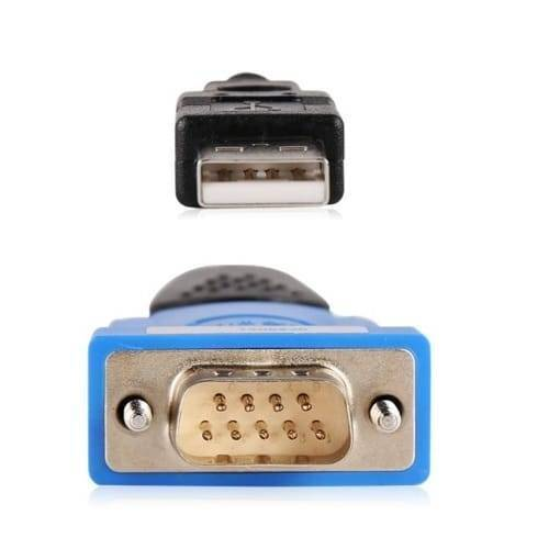 USB 1.1 To RS232 Converter USB To Serial DB9 Male Adapter ZTEK Cable