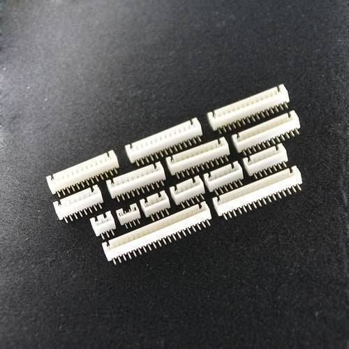 10 Pin 2.5mm JST XH Style PCB Mount Male Connector