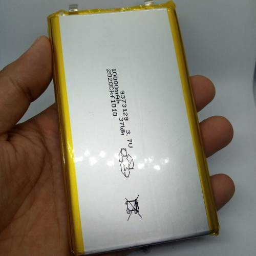 3.7v 10000mAh Lithium Ion Battery