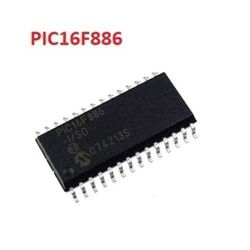 PIC16F886 ISO SOIC28 Microcontroller Legs may be bend a little bit