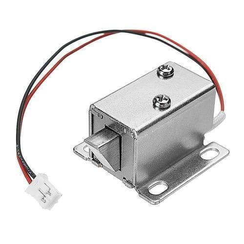 12V Drawer Cabinet Electric Door Lock 27x29x18mm Lock Assembly Solenoid