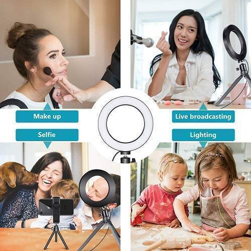 6 Inch 15cm Selfie LED Ring Light Without Stand For TikTok Video Live Camera Makeup