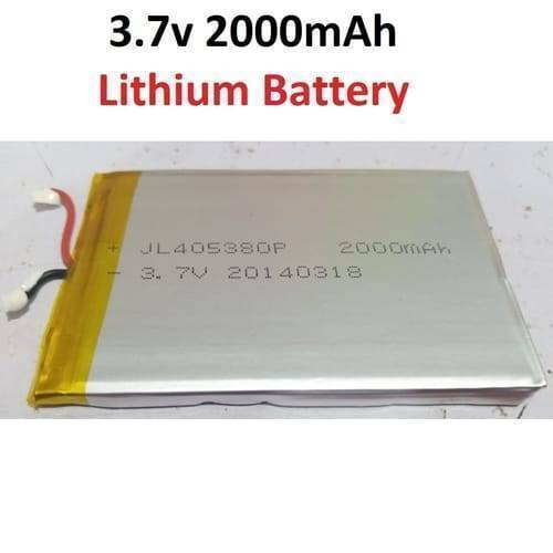2000mAH 3.7v Lithium-ion Battery In Pakistan
