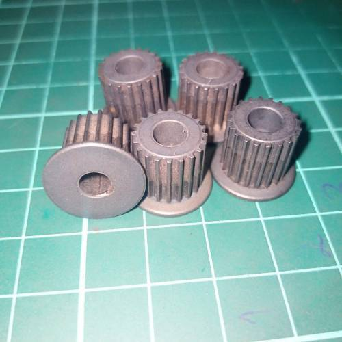 Japanese GT2 20 Teeth 5mm Bore Push Fit Pulley Timing Pulley