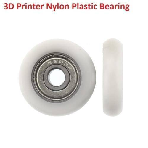 3D Printer Track Roller Nylon Plastic Bearing Pulley