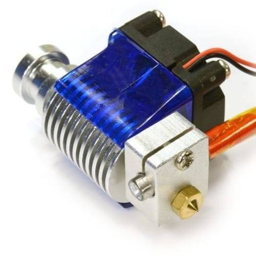 3D V6 J head All metal Hotend Bowden long distance Extruder with cooling fan