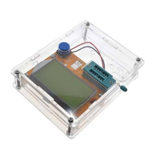 Clear Acrylic Case Shell Housing For LCR-T4 M328 Transistor Tester Capacitance