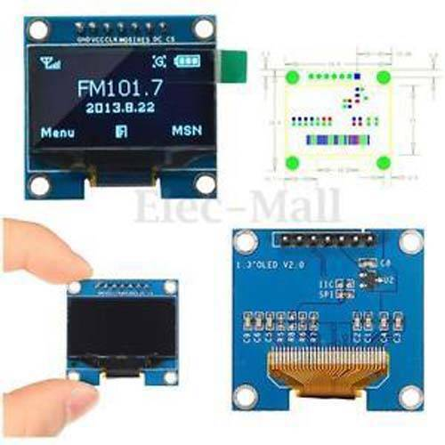 1.3 Inch 128×64 OLED Display Screen Module with SPI Serial Interface – V2