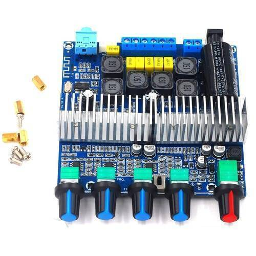 2.1 Channel Audio Stereo Equalizer Bluetooth HIFI Power Subwoofer Amplifier Board TPA3116D2