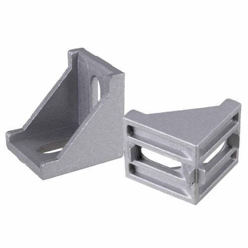 4040 Corner Fitting Angle Aluminum L Type Connector Bracket For Aluminum Profile