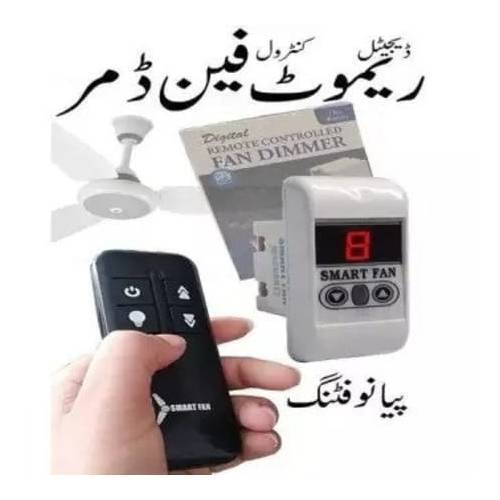 Digital Ceiling Fan Dimmer With Remote Control Piano Fitting
