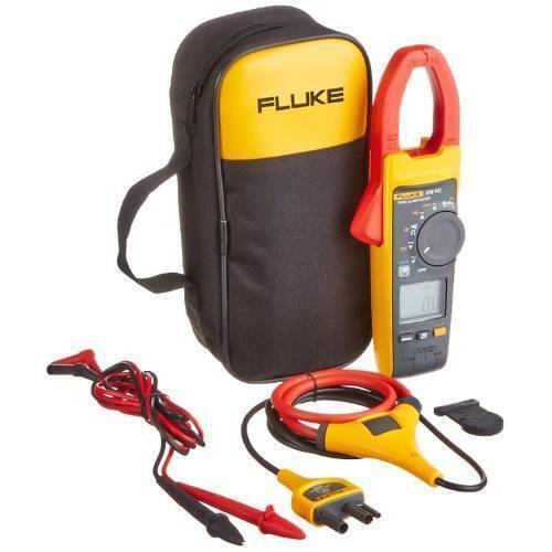 Fluke 378 FC Non-Contact Voltage True-rms AC/DC Clamp Meter with iFlex