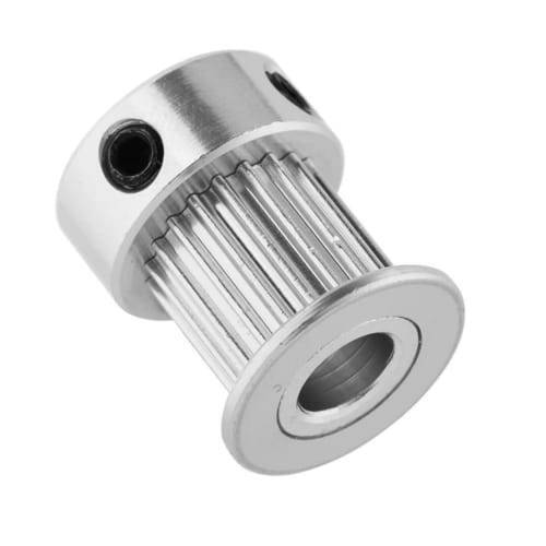GT2 Pulley 20 Teeth 6.35mm Bore Timing Gear Aluminum Alloy Pulley For CNC 3D Printers