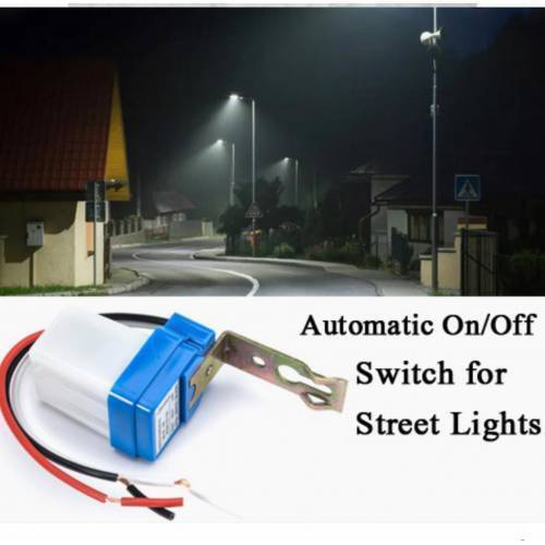 Photocell Street Light Switch Auto On Off AS-10-220 Sun Switch