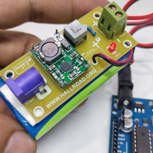 Rechargeable 7.4V Battery Pack For Arduino And Robot Power Supply With Charger