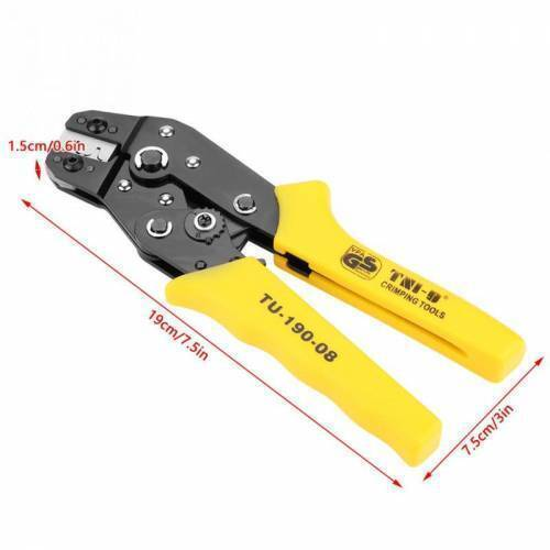 TU-190-08 Terminals TU Tool Crimping Tool Crimping Cable Cutter for 24AWG-10AWG 0.08-0.5sq.mm