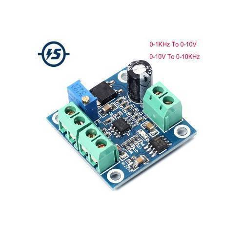 Frequency to Voltage Converter Module 0-1KHz to 0-10V Digital to Analog Voltage Signal Conversion Module