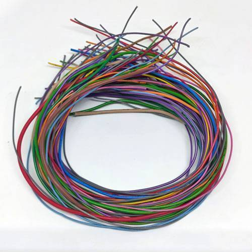 Multiple size Flexible wires jumper wire solder able wires different colors 12 inch size 50Grm Used In Pakistan